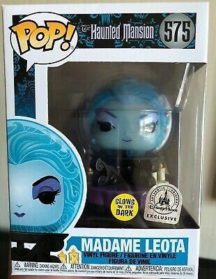 Disney Haunted Mansion 50th FUNKO Madame Leota In Hand Exclusive GITD