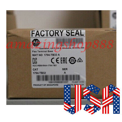 Allen-Bradley Flex Terminal Base Unit 1794-TB32 for 32 Point Modules US Stock