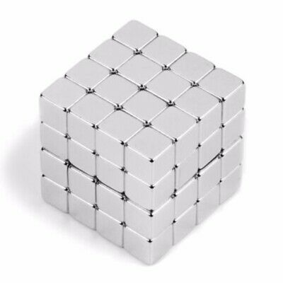 N45 5*5*5mm Strong Square Cube Neodymium Block Magnets Rare Earth Block Magnetic