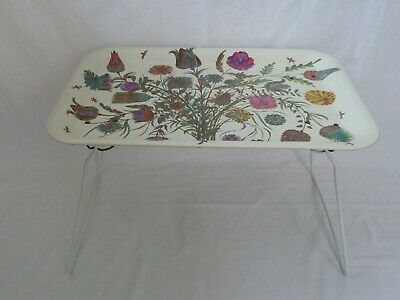 Vintage Worcester Ware Folding Lap Tray