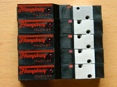 5 x Humphrey M401 37 24VDC Solenoid Valve M401-37 24VDC Very good condition!!