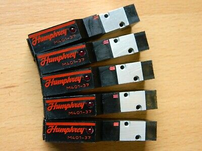 5 x Humphrey M401 37 24VDC Solenoid Valve M401-37 24VDC Very good condition!