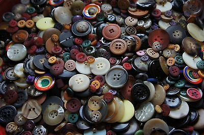 5,000 Buttons Mixed Colors Sewing Sale Mixed Huge Bulk Lot Whsl