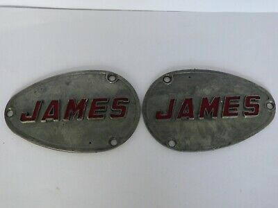 JAMES MOTORCYCLE AMC ENGINE COVERS R/H and L/H