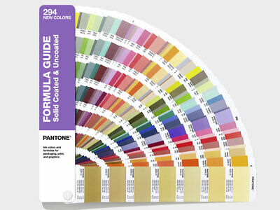 PANTONE Formula Guide Solid Coated / Uncoated Supplement - 294 New solid colours