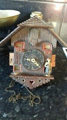Vintage Cuckoo Clock ,Lot Of Age Please Look