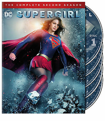 SUPERGIRL-COMPLETE 2ND SEASON (DVD) Free shipping with USPS First Class