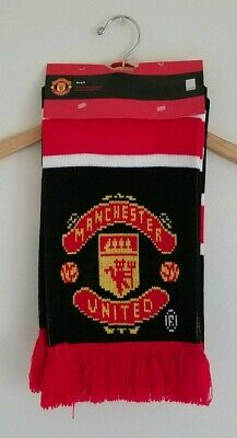 Manchester United Football Club Winter Scarf Brand New
