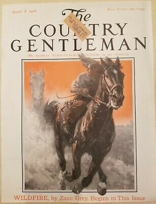 The Country Gentleman 22 Covers Only 1916