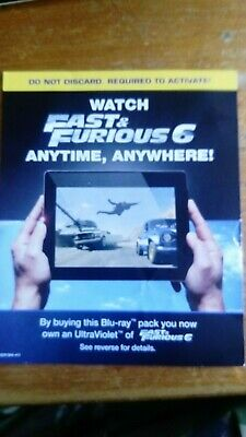 Fast And Furious 6 HD Google Play Code