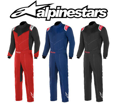 Alpinestars Kart Indoor Suit Single Layer Racing Suit Mechanics Suit