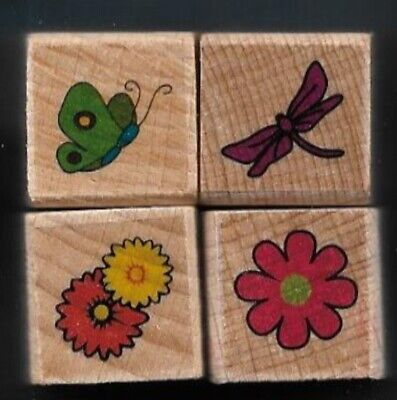 3x5 Rug Educational Insect Exotic Nature Butterfly Dragonfly Heart Flowers Black