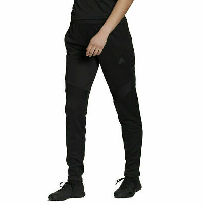 Mens Adidas TIRO 19 Training Pant Tapered Fit Football Soccer Black DZ8765 Black