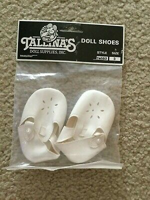 Tallina/'s Doll Shoes  Size 3  Choice Of 3 Colors  Style 445