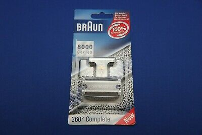 Braun 8000 - Series 5 - 360 Complete - Shaver Foil and Cutter  ** BRAND NEW **