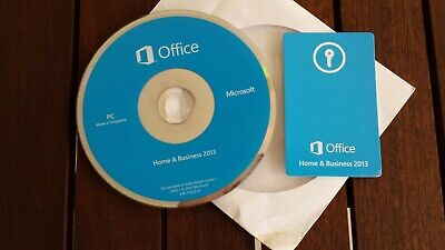 Microsoft Office Home And Business 2013 Product Key With DVD for 1 PC