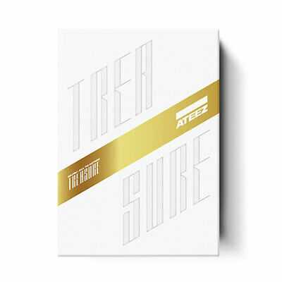 "[ATEEZ]1st Album ""Treasure EP.Fin:All To Action"" (Z) CD+Book+Card+PreGift+POSTER"