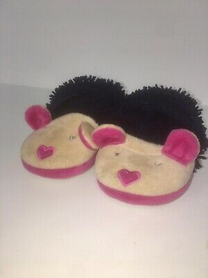 ASDA George Baby Girl Slippers Size 8 Infant