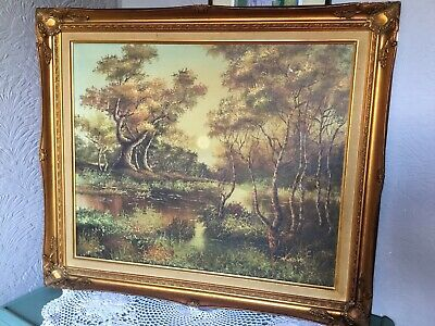 Stunning Antique Style Large French Swept Gilt/Gold Picture Frame #5321