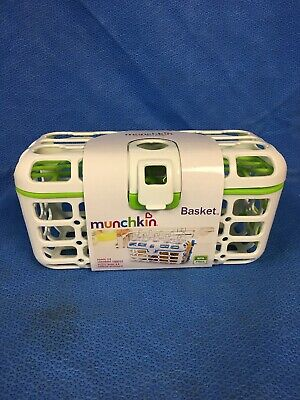 Munchkin Deluxe Dishwasher Basket for Baby Bottles in Green