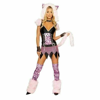 Naughty Pussycat Costume for Adults