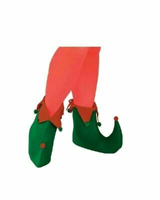 Elf Green and Red Adult Shoes