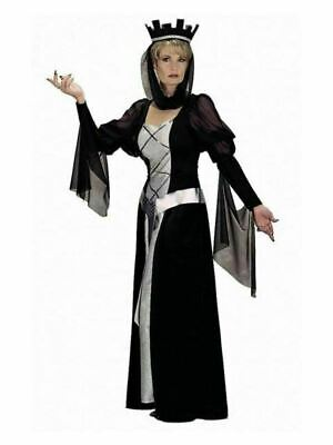 Queen Black Costume for Adults