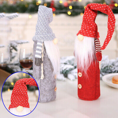 Decoration Wine Cover Hotel Shopping Malls Seasonal Christmas Occasions