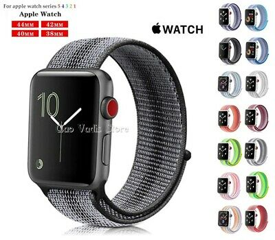 Correa Pulsera Loop De Nailon Deportiva Para Apple Watch 1/2/3/4/5   38-40-42-44