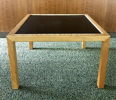 Vtg Herman Miller Table George Nelson Eames End Side Parsons Wood Office MCM