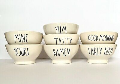 Rae Dunn Bowls~YOU CHOOSE! Cereal Soup Dessert LL Farmhouse *Buy More Save More*