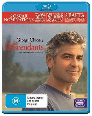 The Descendants - George Clooney -  (Blu-ray, 2012) New Sealed (D511)