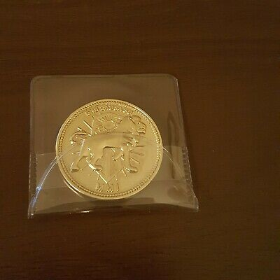Bam Box John Wick Gold Coin Continental Hotel Movie Prop Replica