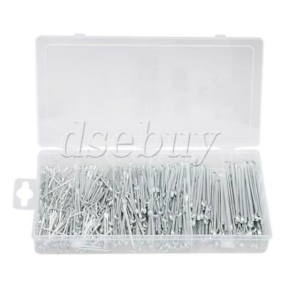 Stainless Steel Split Pins Cotter Multiple Sizes for Auto Repair Set of 555