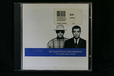 Pet Shop Boys ‎– Discography (The Complete Singles Collection)  - CD (C845)