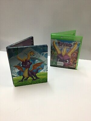 Spyro:Reignited Trilogy | Xbox one | Steel Book Case Combo | One Disc ONLY |