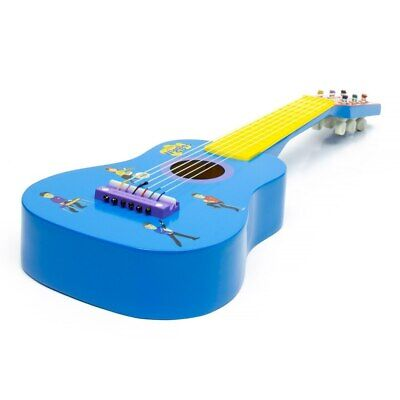NEW The Wiggles Mini Wooden Guitar from Baby Barn Discounts