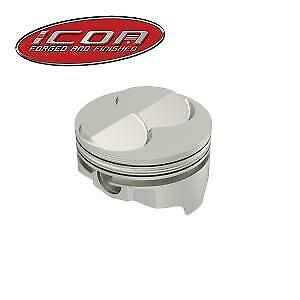 ICON IC732.030 - Chevy 350 - KB ICON Forged  Pistons - Dome IC732.030