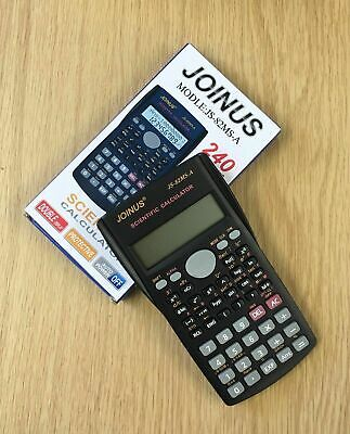 12 DIGITS SCIENTIFIC ELECTRONIC CALCULATOR For OFFICE SCHOOL EXAMS WORK NEW