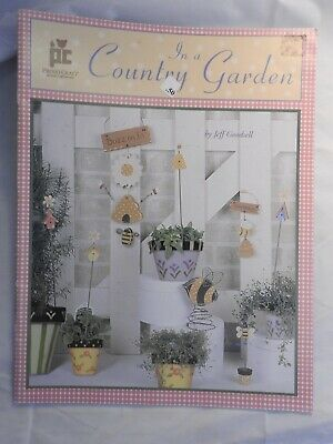 In a Country Garden - Jeff Goodall folk art tole painting pattern
