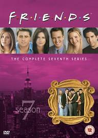 Friends: Complete Season 7 - New Edition [DVD] [1995], Acceptable DVD, Maggie Wh