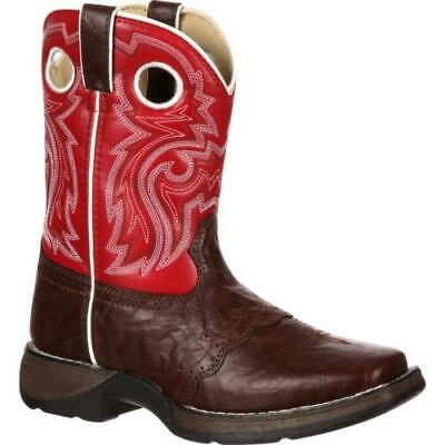 Durango Little Kid BT285 Brown Lacey Western Cowboy Boots--STOCK CLEARANCE