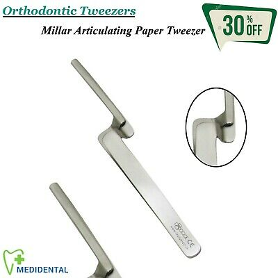 Orthodontic Surgical Millar Articulating Paper Tweezer CE