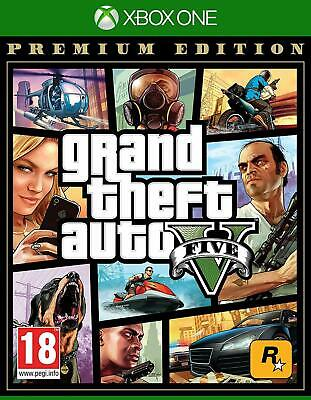Grand Theft Auto GTA V 5 Premium Edition Xbox One NEW DISPATCHING  ALL BY 2 P.M.