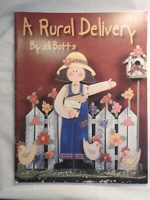 A Rural Delivery - Jill Botts  - folk art tole painting patterns