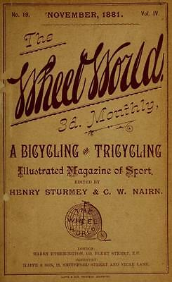 +1,000 Rare Antique Cycling Magazines On Usb - Bicycle Motorcycle Wheel History