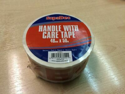 SupaDec Handle With Care Tape 48mm x 50m