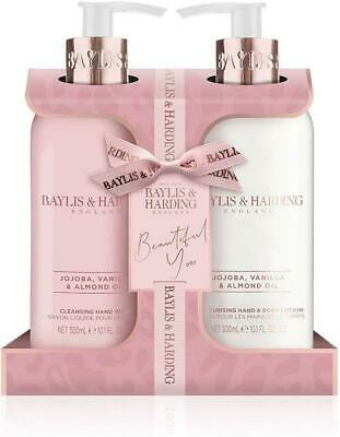 Baylis & Harding Jojoba, Vanilla & Almond Oil Luxury Hand Care Essentials