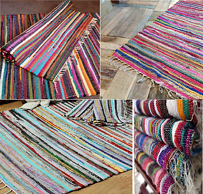 Other Home Decor Fair Trade Loom Recycled Rag Rug Chindi