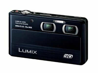 Panasonic Digital Camera Lumix 3D1 4X Optical Black Dmc-3D1-K Japanese Version